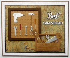 PartiCraft (Participate In Craft): Grandad Workshop Card