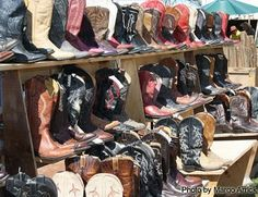 i'm not a seconds on shoes kind of girl, but would buy vintage cowboy boots in a snap.