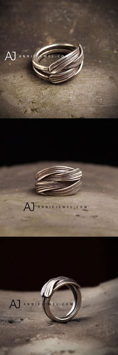 REALLY UNIQUE! STERLING SILVER RING STACKING RING UNIQUE GIFT RING JEWELRY