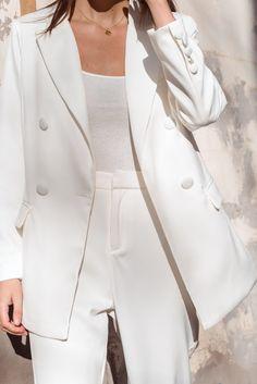 Leeona Bodysuit - White