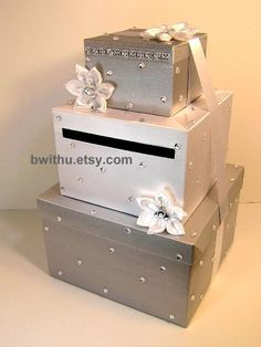 wedding card box gift card box money box holder customize your color 9900