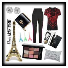 """paris is always a good idea"" by soccerisworthliving ❤ liked on Polyvore featuring interior, interiors, interior design, home, home decor, interior decorating, Philipp Plein, Haider Ackermann, Park B. Smith and Gucci"