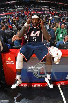Montrezl Harrell of the LA Clippers is seen after the game against the Sacramento Kings on January 2019 at STAPLES Center in Los Angeles, California. Nba Basketball Teams, Basketball Leagues, Hockey, Toyota, Basketball Photography, Sports Team Logos, La Clippers, Sacramento Kings, Los Angeles Clippers