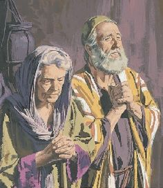 images of elizabeth and zacharias - Google Search