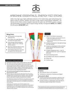 Arbonne Energy Fizz Sticks Vs Other Energy Drinks