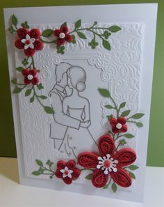 Wedding Card with Quilling | docrafts.com