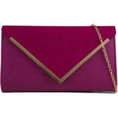 ALDO Hendon (2.470 RUB) ❤ liked on Polyvore featuring bags, handbags, clutches, purses, accessories, bolsas, fuschia, aldo clutches, purple handbags and aldo handbags