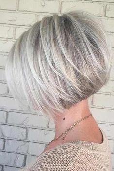 Nouvelle Tendance Coiffures Pour Femme 2017 / 2018 Image Description Les coupes de cheveux de Bob sont l'un des styles les plus populaires de nos jours et il semble qu'ils ne sortiront jamais du