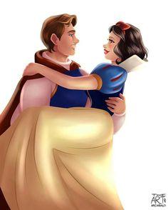 Disney Couples for Best of Disney Art by Archibald Art (Mulan and Li Shang) Walt Disney, Disney Couples, Cute Disney, Disney Girls, Disney Magic, Disney And Dreamworks, Disney Pixar, Disney Characters, Aladdin