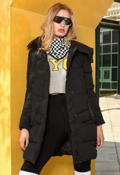 Winter Jackets, Vest, Lady, Collection, Fashion, Winter Coats, Moda, Fashion Styles, Fashion Illustrations