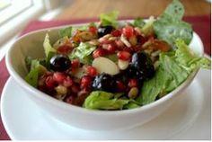 Pomegranate poppy seed salad for #RoshHashanah