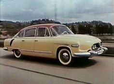 """cestu"""" is apparently Czech for ̶ 1962 Tatra 6031962 Tatra 603 Retro Cars, Vintage Cars, Car Pictures, Car Pics, Old Cars, Concept Cars, Motor Car, Cars And Motorcycles, Dream Cars"""