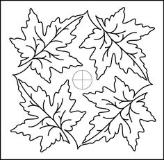 1000 Images About Printables Leaves On Pinterest Leaf Template Embroidery Patterns And