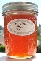 recipe for prickly pear jelly.....sounds good -- will be trying these recipes this week, for Christmas gifts.....