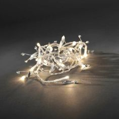 Konstsmide Length Of 20 Warm White Battery Operated Indoor Static Fairy Lights with Silver decorations Transparent Cable - FairyLightUK Christmas Lights, Christmas Time, Christmas Shopping, Hong Kong, Lion Sculpture, Led, Glitter, Products, Christmas Fairy Lights