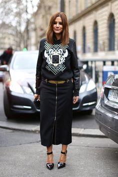Street Style at Paris Fashion Week Fall 2013 Photo 186