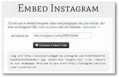 Embed Instagram photos or videos on your Web site | How To - CNET