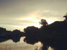 Печальные мысли — как туман. Взошло солнце — и они рассеялись.  #рязань #rzn #рассвет #природа