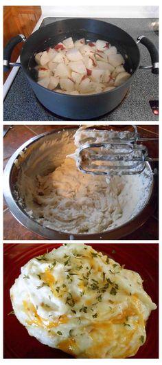 Super Creamy Loaded Mashed Potatoes
