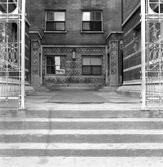 Francis Apartments. 1895. Chicago, Illinois. Frank Lloyd Wright. Demolished in 1971