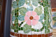 BARCELLONA - Palau Musica Catalana particolare mosaico