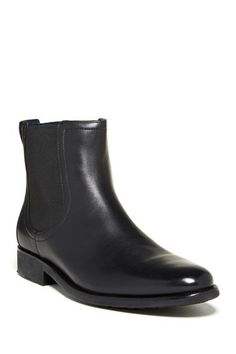 Stanton Chelsea Boot by Cole Haan black leather ... I like these with a suit