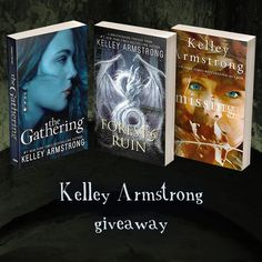 Kelley Armstrong #YAlit Giveaway