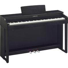YAMAHA CLAVINOVA CLP 525 NOIR PIANO NUMERIQUE MEUBLE CLP525