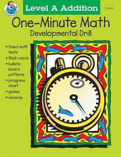 One-Minute Math Developmental Drill, Grades 1-2, Level A Addition by Theresa Warnick http://www.amazon.com/dp/0764703919/ref=cm_sw_r_pi_dp_Bvllub1RZ84C4