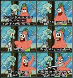 One of my favorite  show  on  spongebob.