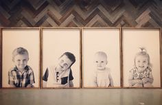 10 Superb Photo Frames On Stands Photo Frames Under 5 Dollars Family Pictures On Wall, Large Family Photos, Display Family Photos, Family Picture Poses, Living Room Pictures, Large Family Portraits, Kid Pictures, Family Wall, Boy Photos