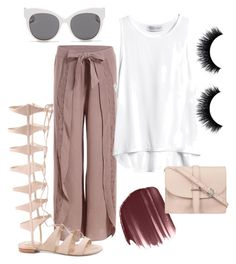 By.ch by carolinahernndezjj on Polyvore featuring polyvore, fashion, style, M.N.G, Blanc & Eclare and LORAC