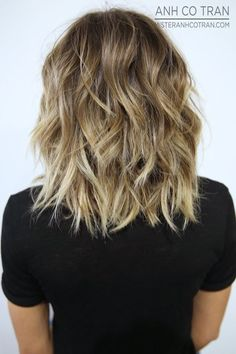 Shaggy, Wavy Hairstyle for Medium Thick Hair More