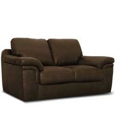 Buy Amy Regular Leather Effect Sofa - Brown at Argos.co.uk, visit Argos.co.uk to shop online for Sofas
