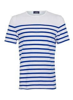 OMG! I found the Louis Tomlinson T-Shirt! WHITE AND BLUE BRETON STRIPE T-SHIRT