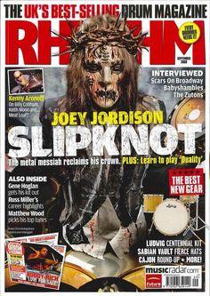 Joey in magazines - Joey Jordison Image (18739556) - Fanpop