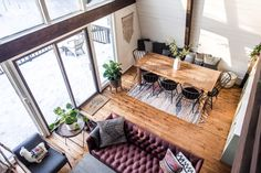 """""""We purchased our home two years ago, somewhat on a whim. We live and work in New York City and, although we love it, after five years our eyes started wandering towards greener pastures."""""""