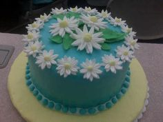Wilton Cake Decorating Tips Fondant : This was my final cake project for the Wilton Course 3 ...