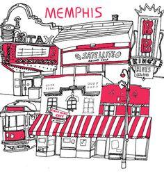 Memphis City Guide by Design*Sponge.