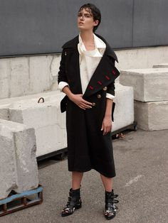 Anne Verhallen in Next Tailoring for Marie Claire Italia October 2016