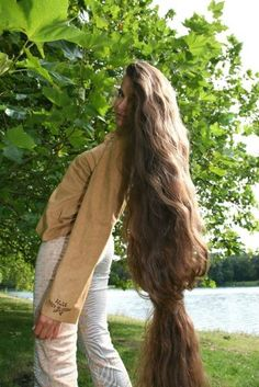 Long Blond, Long Brown Hair, Very Long Hair, Beautiful Long Hair, Gorgeous Hair, Extreme Hair, Her Hair, Cool Hairstyles, Hair Beauty