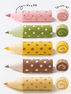 大阪新阪急ホテルの地下1階にあるベーカリー&カフェ「ブルージン」では、新作ケーキ「色えんぴつろーる」(1本/450円)を7月から販売している。同商品は、濃厚なク...