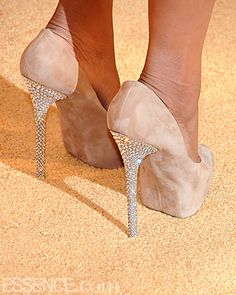 Okay one day I'm gonna have a REAL wedding and I will have these shoes! LoL! If not Katie these are for you!