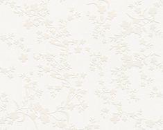 Bytové tapety Esprit 13, popínavka béžová