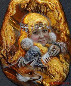 Сказочные работы Светланы Беловодовой.