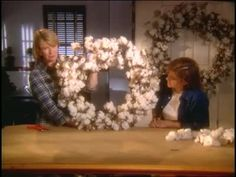 Watch Martha Stewart's How to Assemble a Cotton Wreath Video. Get more step-by-step instructions and how to's from Martha Stewart.