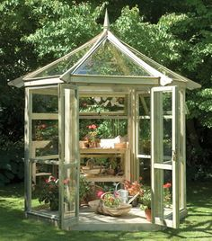 greenhouse/gazebo. Want a greenhouse.