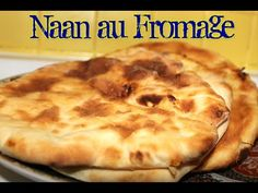 #LGDK : Cheese Naan faciles! (Pains indiens au fromage) - YouTube