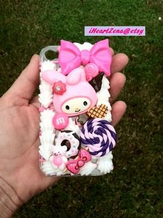 Kawaii Sweets and Treats Cell Phone Case for Iphone by BlingnSweet, $40.00
