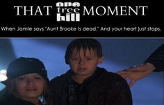 """THAT #OTH MOMENT """"Aunt Brooke is dead"""""""